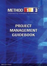 8.00 Project Management Handbook