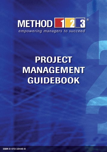 8.00 Project Management Handbook