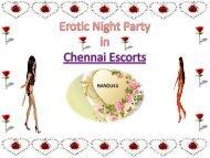 Funny Night Escorts in Chennai