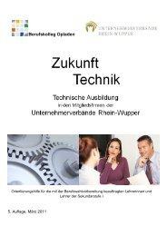Berufskolleg Opladen - Unternehmerverbände Rhein-Wupper
