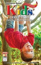 Hampton Roads Kids' Dorectory Southside Edition: August 2016