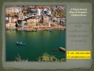 A Trip to Sacred Place of Temples – Omkareshwar - HolidayKeys.co.uk