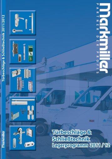 Türbeschläge & Schließtechnik - Markmiller