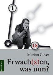 Leseprobe aus dem Buch Erwach(s)en, was nun?