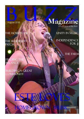 BUZZ Magazine August 2016