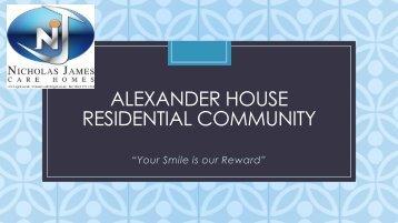 Alexander house Bochure