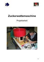 Zuckerwattemaschine - HTL Wien 10