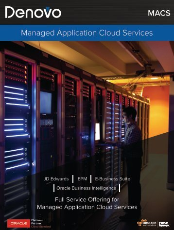 Denovo - Managed Application Cloud Services