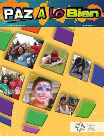 Revista Paz a lo Bien N°1- JAFET Colombia