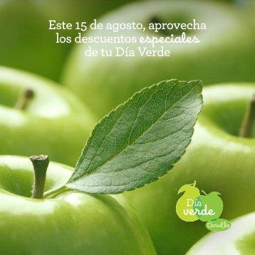 Correo Día Verde Agosto 2016, bono 10.000