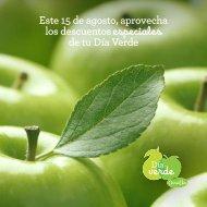 Correo Día Verde Agosto 2016, bono 15.000