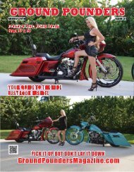 Ground Pounders Magazine August 2016