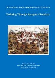 Trekking Through Receptor Chemistry - Università degli Studi di ...