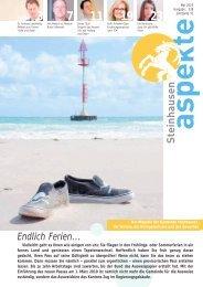 Ausgabe 05/2010 (Grösse 3.9 MB) - Aspekte Steinhausen
