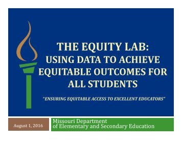 THE EQUITY LAB