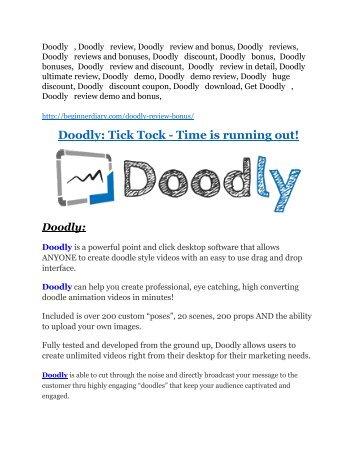 Doodly Review demo - $22,700 bonus