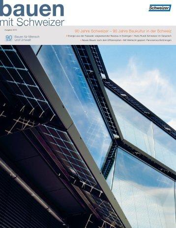1/2010 deutsch (pdf, 4489 KB) - Schweizer Metallbau