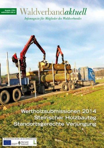 Waldverband aktuell - Ausgabe 2014-01