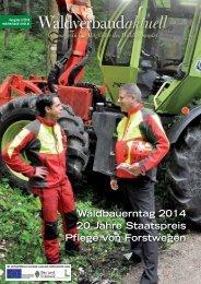 Waldverband aktuell - Ausgabe 2014-03