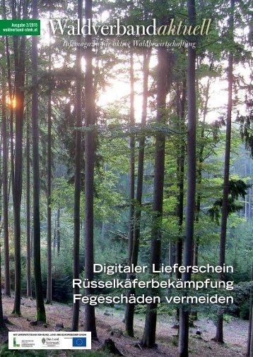 Waldverband aktuell - Ausgabe 2015-02