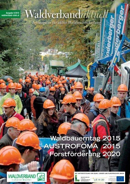Waldverband aktuell - Ausgabe 2015-04