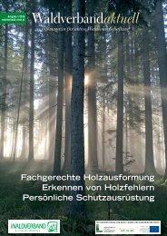 Waldverband aktuell - Ausgabe 2016-01