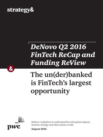The un(der)banked is FinTech's largest opportunity
