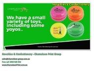 Novelties & Confectionery - Chameleon Print Group