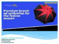 Umbrellas - Chameleon Print Group