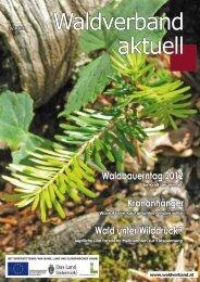 Waldverband aktuell - Ausgabe 2012-03