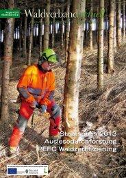Waldverband aktuell - Ausgabe 2013-04