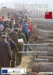 Waldverband aktuell - Ausgabe 2012-01