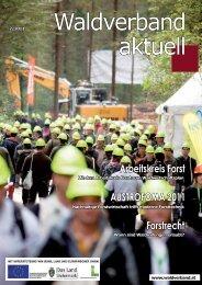 Waldverband aktuell - Ausgabe 2011-02