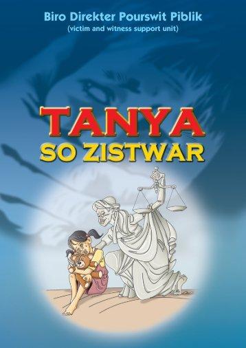 TANYA SO ZISTWAR