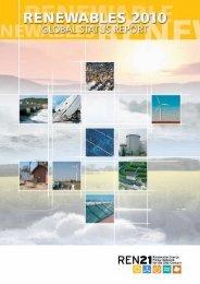 REN21 Renewables 2010 Global Status Report