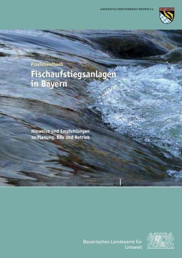Fischaufstiegsanlagen in Bayern
