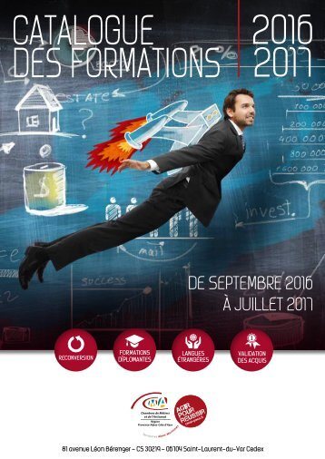 Catalogue 2016 des Formations 2017