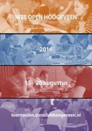 Programmaboekje MTB Open 2016 nummerieke volgorde