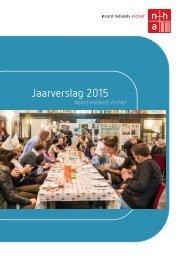 Jaarverslag 2015 | Noord-Hollands Archief