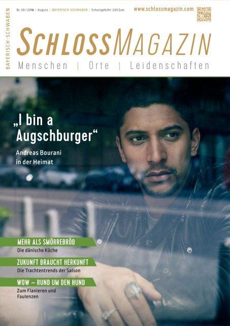 SchlossMagazin Bayerisch-Schwaben August 2016