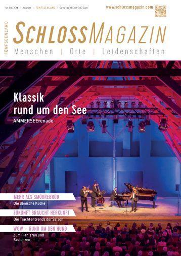 SchlossMagazin Fuenfseenland August 2016