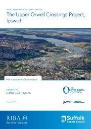 The Upper Orwell Crossings Project Ipswich