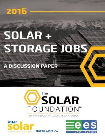 SOLAR + STORAGE JOBS