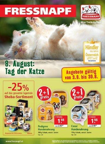 Fressnapf Österreich Angebote August
