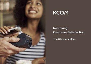 Improving Customer Satisfaction