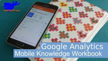 Google Analytics mobile knowledge workbook
