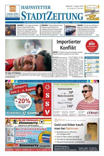 114 Augsburg - Haunstetten 03.08.2016