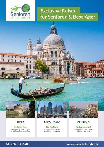 Reisemagazin - Senioren in den Urlaub 2016