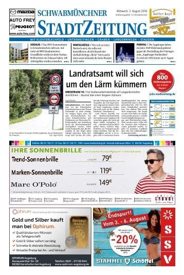 112 Schwabmünchen 03.08.2016