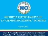 "RIFORMA COSTITUZIONALE LA ""SEMPLIFICAZIONE"" DI RENZI"